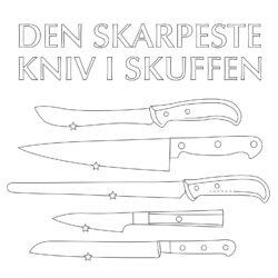 Den skarpeste kniv i skuffen